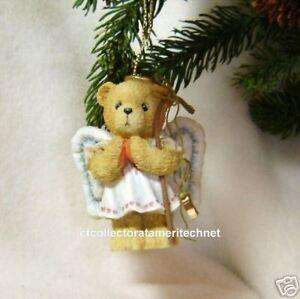 Cherished Teddies Ornament 1992 Angel w/Staff MIB