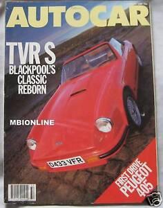 Autocar-magazine-5-8-1987-featuring-TVR-Renault-5GT-Turbo-BMW-Alpina-Nissan