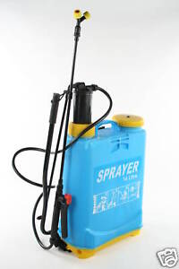 16 Ltr Knapsack Pressure Chemical Sprayer New Garden