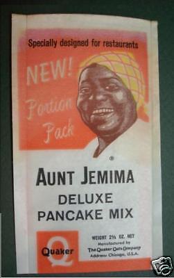 2 AUNT JEMIMA PANCAKE QUAKER OATS PORTION PACK BAGS SAMPLE SIZE