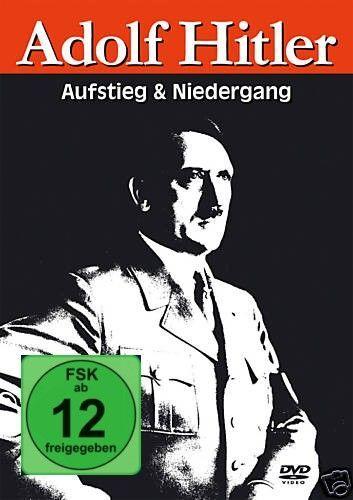 DVD Adolf Hitler Aufstieg und Niedergang   3DVDs