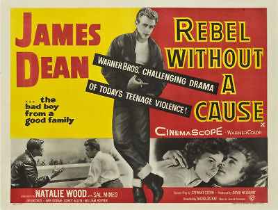 Rebel without a cause James Dean movie poster #12 on Rummage