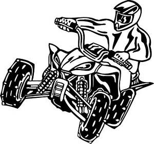 Coloring pages 4wheelers ~ Pin Four Wheeler Coloring Pages Of Can Am Outlander 800r ...