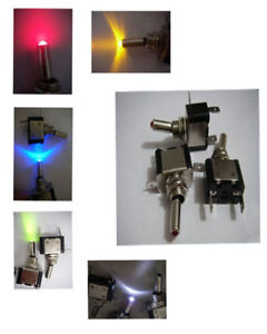 5-Multi-Color-Marine-Car-Light-ON-Off-Led-Toggle-Switch