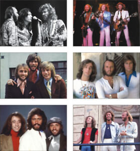 The-Bee-Gees-6-Card-POSTCARD-Set
