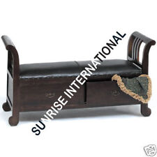Artistic Wooden Sofa Bench with storage drawers !!