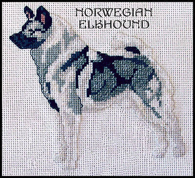 Dog Breed Counted Cross Stitch Patterns