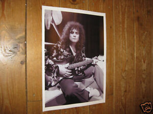 Marc Bolan T Rex Great New BW poster Shoe