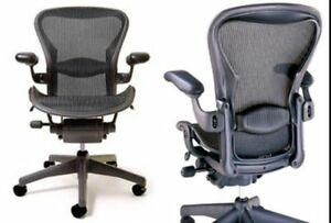 The-HERMAN-MILLER-AERON-DLX-Office-Chair-CARBON-BLACK-B-Fully-Adjustable-3-days