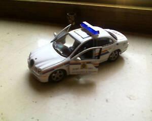 """MODELLINO AUTO JAGUAR """"POLICE"""" - Italia - MODELLINO AUTO JAGUAR """"POLICE"""" - Italia"""