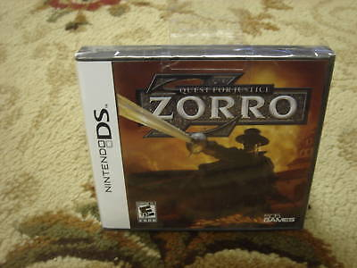 Zorro: Quest For Justice (nintendo Ds, 2010)