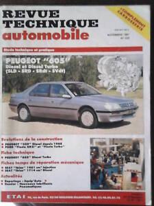 PEUGEOT-605-diesel-amp-Turbo-Revue-Technique-Automobile