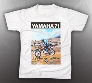 vintage yamaha 1971 dt1 shirt like nos