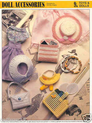 Fashion Doll Accessories Plastic Canvas Pattern