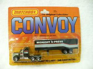 AC MATCHBOX CONVOY CY9  KENWORTH CONV BOX TRUCK MIP
