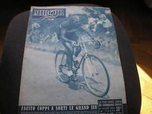Coppi crono la rochelle tour 1949 cover miroir sprint ebay for O miroir la rochelle