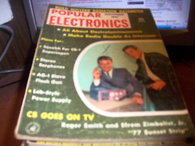 Popular Electronics Nov 1961 Cb Goes On Tv