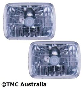 Holden Rodeo TF KB Ute Crystal Clear Headlights NEW