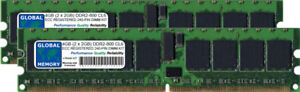 4GB 2 x 2GB DDR2 800MHz PC26400 240PIN ECC REGISTERED RDIMM SERVER RAM KIT - <span itemprop='availableAtOrFrom'>Bolton, United Kingdom</span> - Cancellations and Re-schedules The buyer has 30 days to change their mind without penalty as long as the item hasn't been opened and/or used. Faulty or incompatible items can also be ref - <span itemprop='availableAtOrFrom'>Bolton, United Kingdom</span>