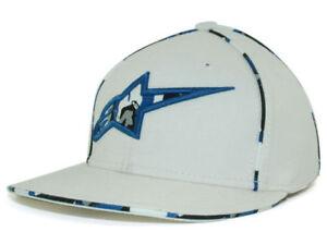 Alpinestars-Battle-A-Flexfit-White-Fashion-Hat-Cap-Motocross-Motorcycle-Auto-S-M