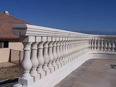 Concrete Baluster Railing 13 Piece Mold Set | eBay