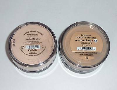 Bare Minerals Original Foundation + Mineral Veil (select Shades) Escentuals Id