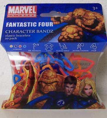 100 Marvel Logo Silly Bandz 5 Different Packs Save $$$