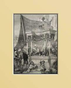 NAPOLI-LACQUAIOLO-SEDENTARIO-Xilo-In-Passepartout-1861