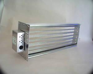 Hvac Motorized Zone Control Small Rectangular Damper Ebay