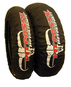 Motorcycle Tire Warmer Warmers Sportbike Dual Temp Set For 180 195 Tires Ebay