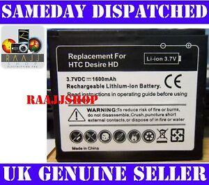 NEW-HIGH-CAPACITY-BATTERY-FOR-HTC-DESIRE-HD-1600maH-UK