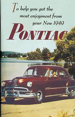 1949 Pontiac Manual-6 & 8 Cylinder
