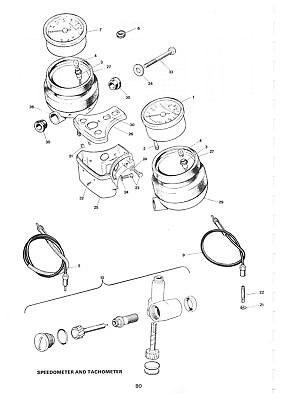 Triumph Parts Manual T140 TR7T TR65 1982 Replacement