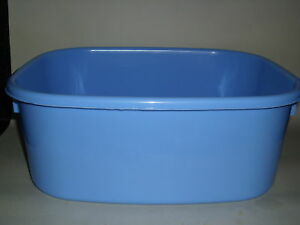New-Lucy-Blue-Large-Oblong-Plastic-Washing-Up-Bowl