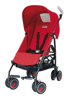 Peg Perego Pliko Mini Stroller In Fire Brand