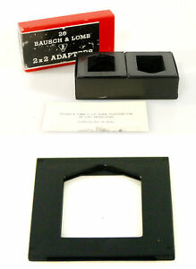 BAUSCH-LOMB-2-X-2-SLIDE-ADAPTERS-BOX-OF-20