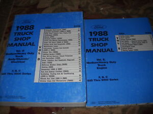 1988 Ford f700 repair manual
