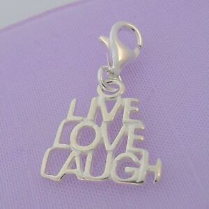 STERLING-SILVER-LIVE-LOVE-LAUGH-CLIP-ON-CHARM