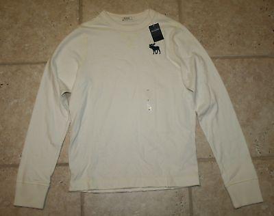 Abercrombie Boy Large Muscle Fit Ls T-shirt