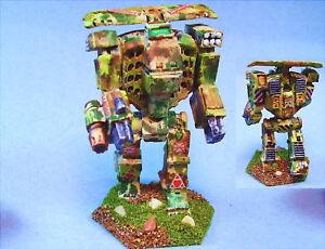 Battletech painted Titan II battlemech WL