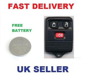 ford transit connect remote key fob case free battery ebay. Black Bedroom Furniture Sets. Home Design Ideas