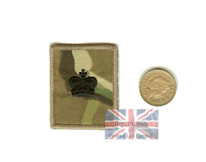New-Official-Crye-Multicam-MTP-Major-Velcro-RANK-Patch
