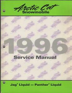 1996 ARCTIC CAT SNOWMOBILE JAG PANTHER  SERVICE MANUAL