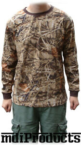 MDI-Bug-Repellent-Long-Sleeve-Camo-T-Shirt-Small-Ideal-for-Fsihnig-or-Hunting