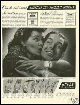1941 Vintage Ad For Gruen Watches