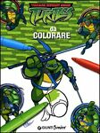 Ninja da colorare. Teenage mutant ninja turtles