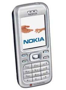 Nokia 6234 - Silver Mobile Phone