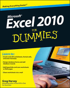 Excel 2010 For Dummies by Greg Harvey (P...