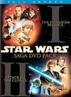 Star Wars Episodes I  II 2-Pack (DVD, 2002, 4-Disc Set, Full Frame)