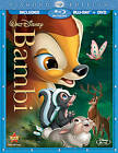 Bambi (Blu-ray/DVD, 2011, 2-Disc Set, Diamond Edition) (Blu-ray/DVD, 2011)